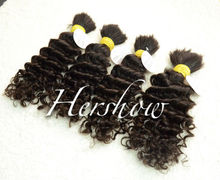 100% unprocessed wholesale bulk hair extensions,good quality bulk hair for wig making