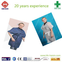 Disposable PVC sauna suit for women