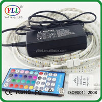 white pcb led flexible strip, white colour pcb 24v led strip with controller-2years warranty