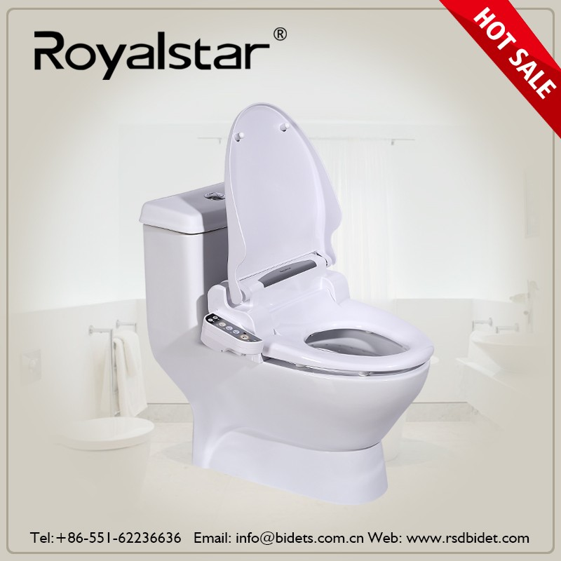 Wholesale luxury smart toilet seat with automatic self clean toilet seat bidet china supplier - Automatic bidet toilet seat ...