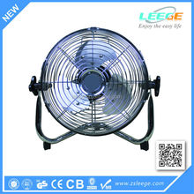 100% Copper motor 12 inch ac metal fan