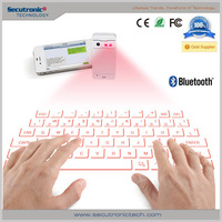 Bluetooth Keyboard For Samsung Galaxy S5, Laser Projection Infrared Wireless Keyboard
