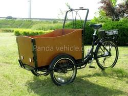 CE certificated Dutch three wheel electric cargo bike /trike /tricycle
