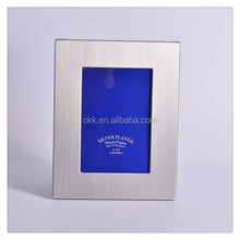Best quality hot-sale brushed silver picture frame