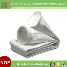 Polyester dust collector filter bag/Nonwoven media filter bag for cement industry