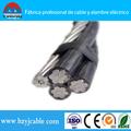 ABC conductor de aluminio aisladoo de PE/ XLPE cable de bajada / abc cable