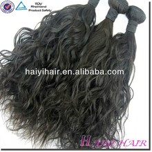 wavy hair weave natural look french curly hair weaving
