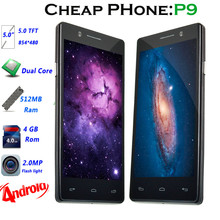 wholesale Entry level cheap 5.0 inch dual core android 3G dual sim mobile