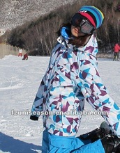 2012 Unique Polyester Women Designer Ski Jacket