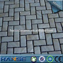 A-f04-1 15x32mm naturali di acqua dolce a spina di pesce bianco perla shell mosaico