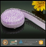 2015 New style knitted elastic tape for lingerie