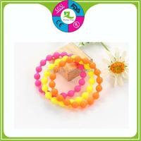 Health silicone bracelet artificial jewellery for 2015 love bracelet