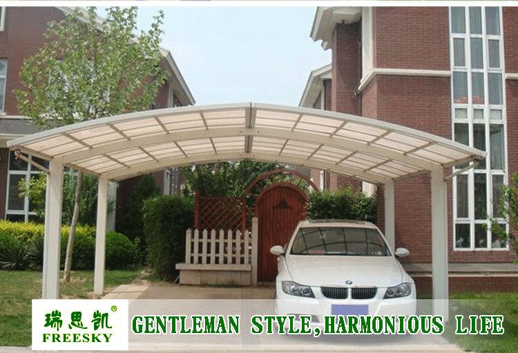 Metal Driveway Carports : M retractable carport attached driveway