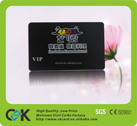 Hot sale glossy surface hard plastic business cards