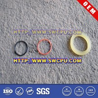 Silicon fastener ring for fastener