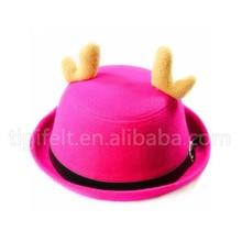 Promotion Children wool felt hat