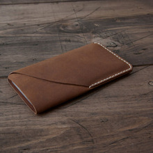 Genuine Leather Case for iPhone6 Simple Pouch Custom