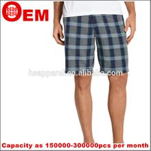 de verificación modelo de tres cortos pantalones casual de la cremallera de los pantalones cortos de diseño para los hombres