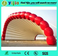 New Portable outdoor exhibition gaint inflatable shell tent