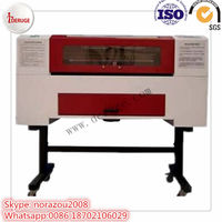 Deruge co2 3d mini fabric laser cutting machine price for acrylic wood leather/ laser engraver and cutter
