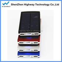 Wholesale Solar Cell Phone Solar Charger 10000mah for Camping & Travelling in Factory Price