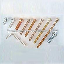 differents sizes of machine screw