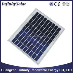 PID Free poly 10Watt Solar Panel, 0~+5W Positive Tolerance