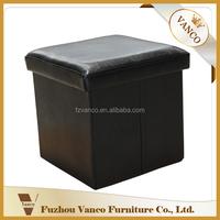 Wholesale modern design ottoman folding foot stool