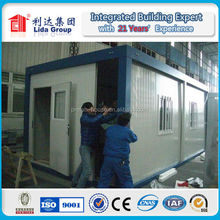 low cost 20ft container house for sale,portable house