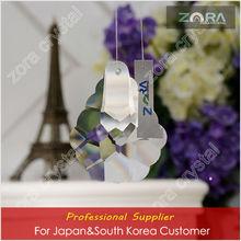 Machine cut glass ball decor curtains for Japan&South Korea