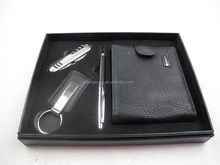 tool knife+key chain+wallet+pen suits,Advertising promotional pen gifts,pen gift setsTS-p00134