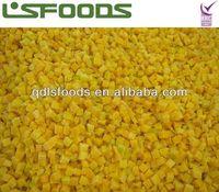 2013 New crop IQF frozen pumpkin