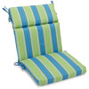 patio chair low back recliner Ellegant stripe Outdoor Furniture Cushions