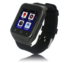New arrival 3G WCDMA Android GPS Watch Phone bluetooth smart watch and phone