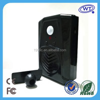 USB Jack PIR motion sensor mp3 recordable portable speaker/Audio Player for promotion