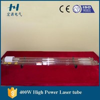 Co2 Laser Glass Tube for Metal Cutting 300W,400W,500W