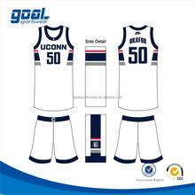 High quality wholesale reversible basketball jerseys / uniform