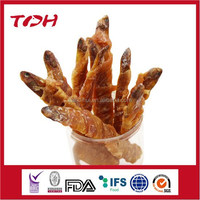 Delicious Snack treats Dried Fish Twined by Chicken Dog food
