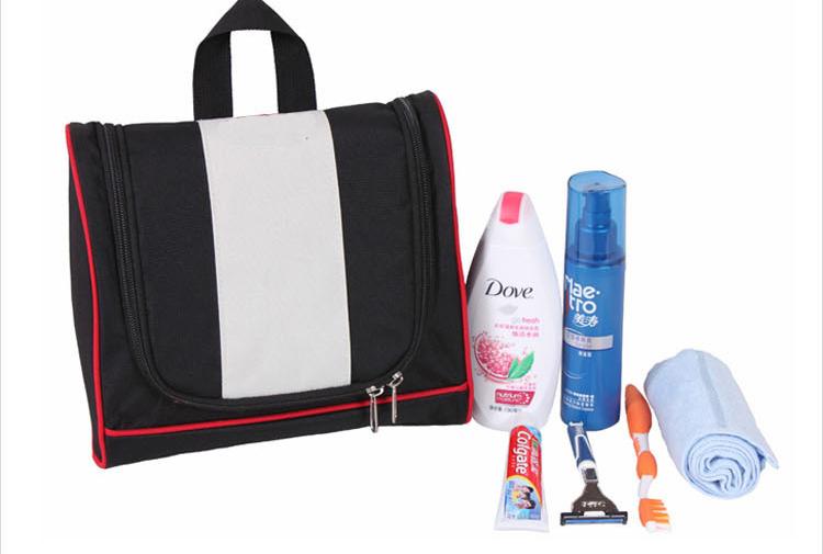 Gros suspension personnalisée contenu cosmétique sac avec compartiments