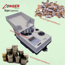 Coin Counting Machine Digital Coin Sorter and Counter Euro Coin Counter