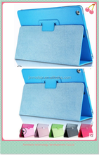 Wholesale stand PU case/ Leather case / protective cover for ipad5 A1475 A1476 A1474 with AUTO wake up and sleep
