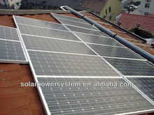 CE TUV proved 15000w 3 high watt power solar panel
