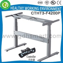Electric lifting height adjustable desk set & human scale desk & roll top rise and sink desk frame Tokyo