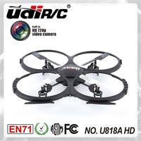 2015 NEW! 2.4G HD camera Discovery quadcopter Drone U818A HD upgrade version