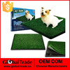 Indoor Pet Toilet Dog Grass Restroom Potty Training with Tray H0158