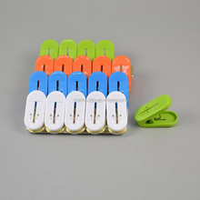 20pcs colorful plastic peg