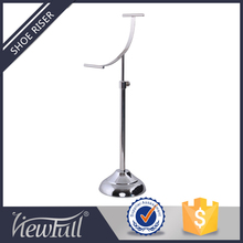 Removable stainless steel high heels display stand