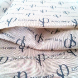 polyester oxford bags lining fabric textile shaoxingmanufacture polyester lining fabric embossing print 190T textile fabric