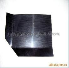 rigid black HDPE plastic slip sheet for pallet good loading