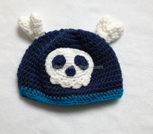 Manufacturers Good Quality 100% Acrylic Purely Hand Made Baby Boy Girl Beanie Cap Skull Crochet Hats for Children